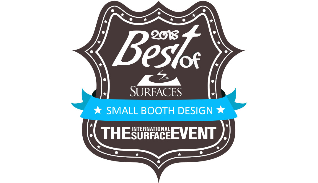 Best of Surfaces - Small Booth Design