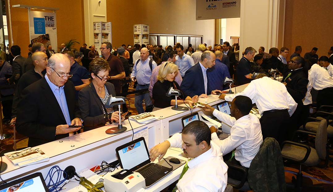 Exhibit Hall Hours at The International Surface Event