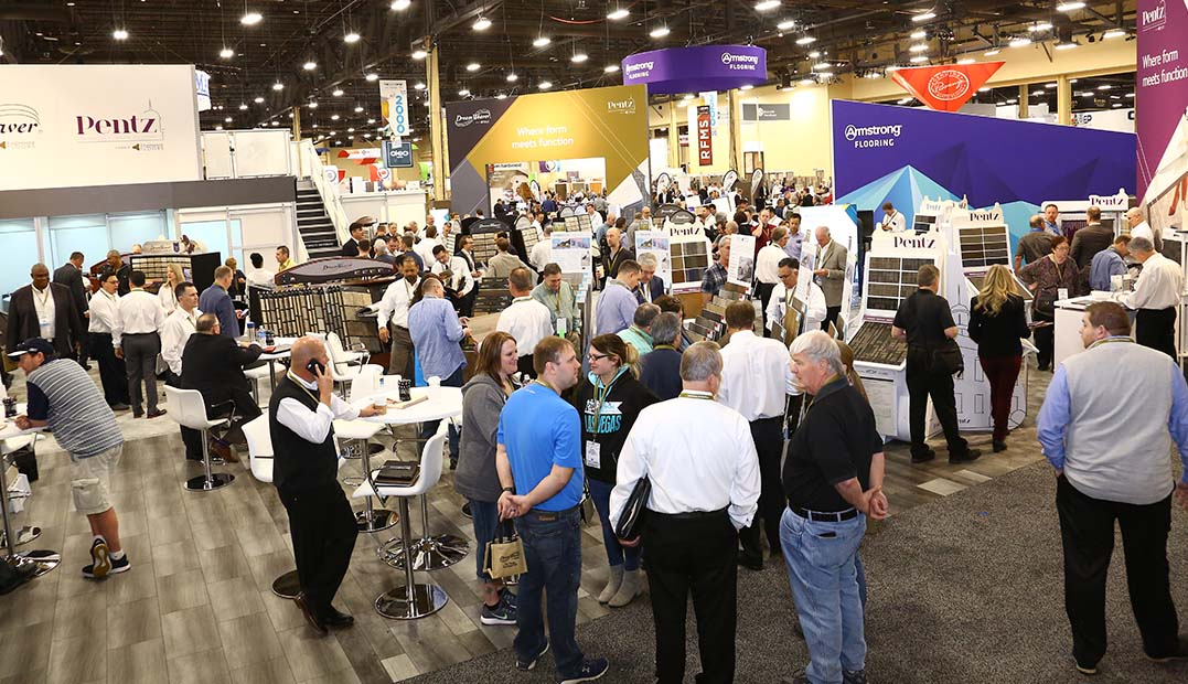 How to Market Your Tradeshow Booth at The International Surface Event