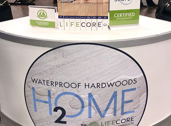 LIFECORE Flooring at TISE 2019