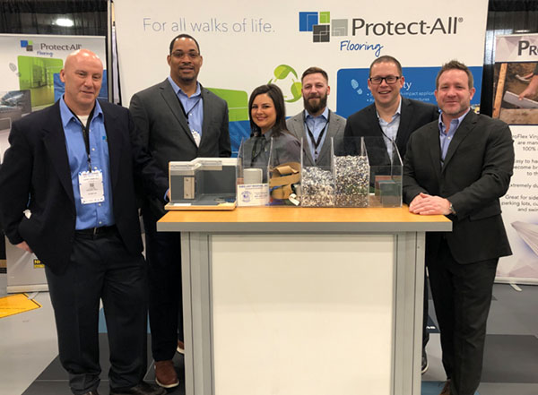 Protect-All Flooring at TISE 2019