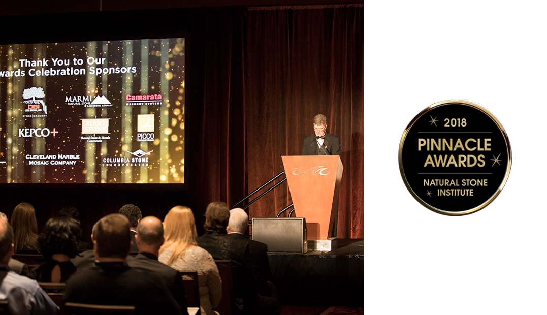 Natural Stone Institute's Pinnacle Awards | The International Surface Event