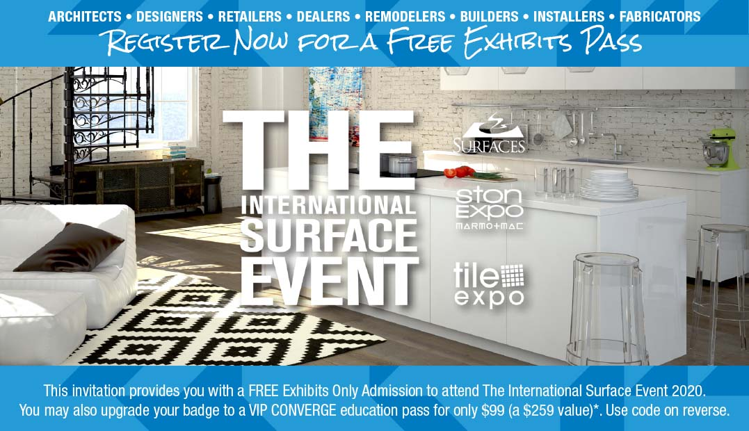 Buyer Invite Mailing Program at The International Surface Event
