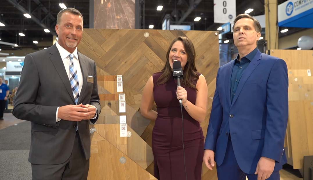 Provenza Floors at #TISE2020